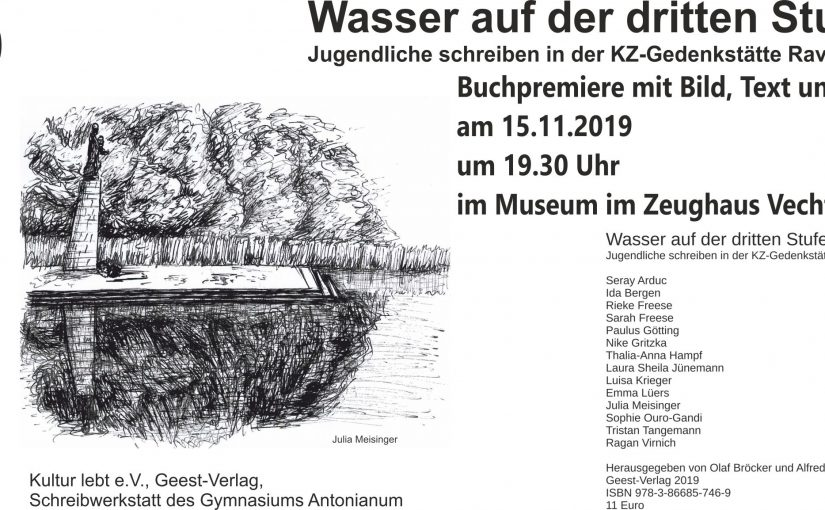 Buchpremiere am 15.11.2019 um 19.30 Uhr im Museum im Zeughaus in Vechta mit Klezmer-Musik, Bildern und Texten