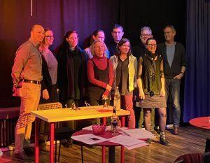 Vortragende 6. Buchstabensuppe Lesung Kulturforum Metzingen 14022020