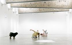 Krõõt Juurak & Alex Bailey, Performances for Pets, 2017 © Wynrich Zlomke