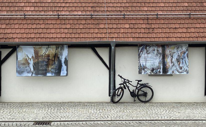 Ausstellung KrisenFest – Vororttermin bei der 1. Welle in Metzingen-Neuhausen
