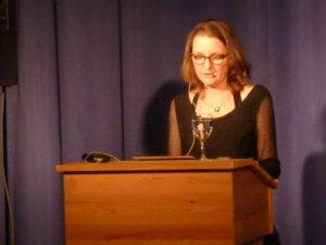 Nadine Baumann Poesie auf Brot 30.07.2021 Kulturforum (c) Eva Linhart