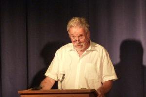 Hans-Peter Flückiger Poesie auf Brot 30.07.2021 Kulturforum (c) Eva Linhart