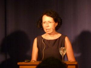 Karina Luger Poesie auf Brot 30.07.2021 Kulturforum (c) Eva Linhart