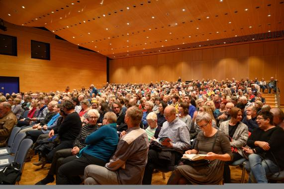 Literaturtage in Öhringen: Etwas Großes geht zu Ende