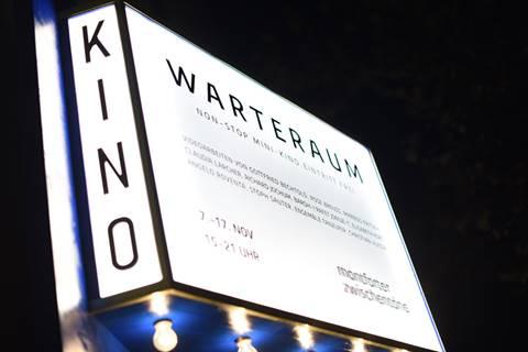 Film ab für den WARTERAUM – bis 17. November täglich von 15 bis 21 Uhr