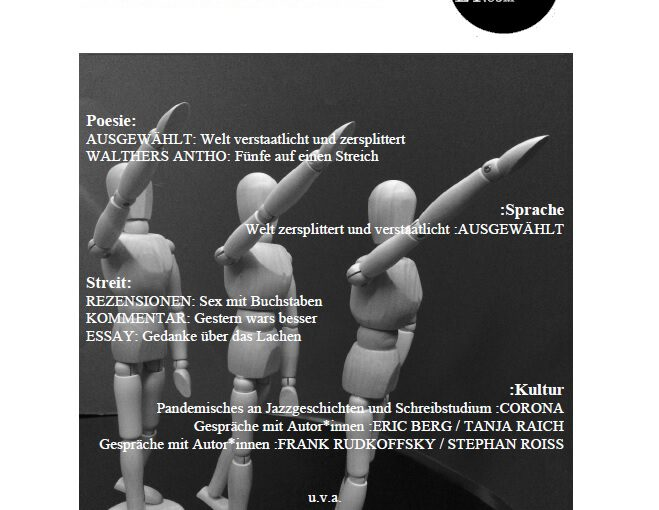 Doppelausgabe 9+10/2020: Hermann Heilner ist bester U18 Autor des Themas Weltstaat
