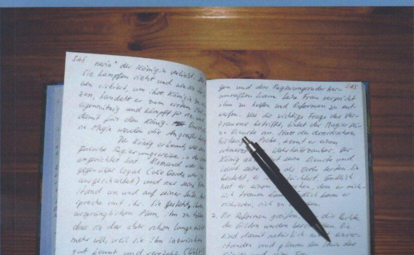 Von der Kunst des Prosaschreibens – 2. Der Aufbau einer Geschichte
