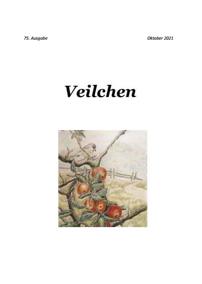 Frisch erschienen: 75. Ausgabe des Veilchen Oktober 2021