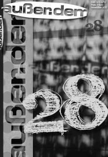06.11.2021 19:30 Uhr: Neue Ausgabe außer.dem 28 – Präsentation im Lyrik Kabinett München